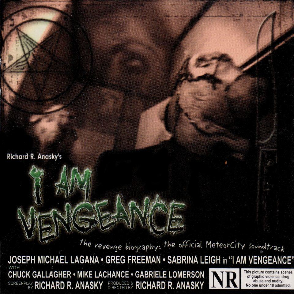 I am vengeance cover